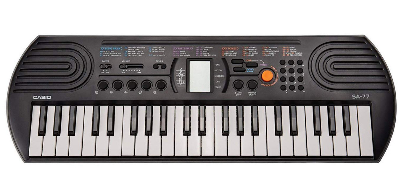 Casio SA-77 44 Key Mini Personal Keyboard
