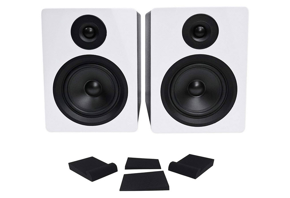 Pair Rockville APM5W 5.25 Powered USB Studio Monitor