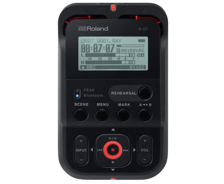 Roland High-Resolution Handheld R07 BK