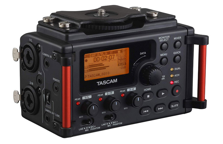 Tascam DR 60DMKII 4 Channel Recorder for DSLR