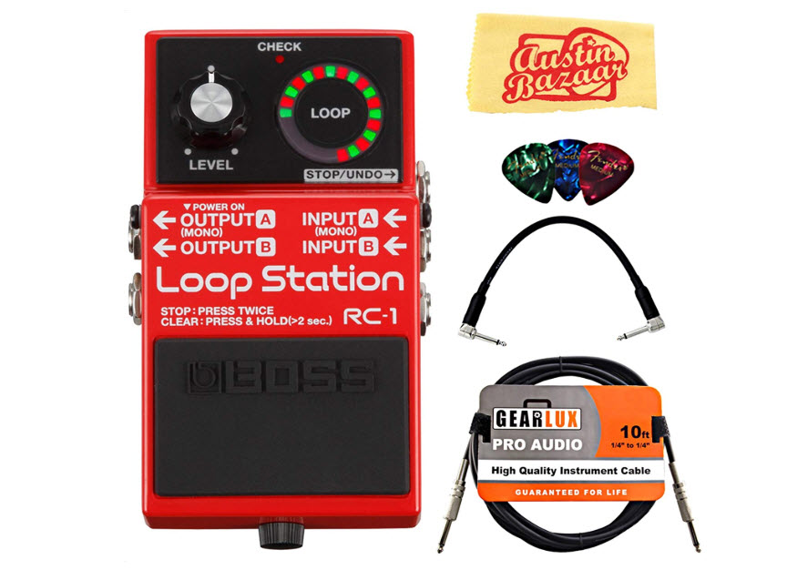 Boss RC-1 Loop Station Bundle