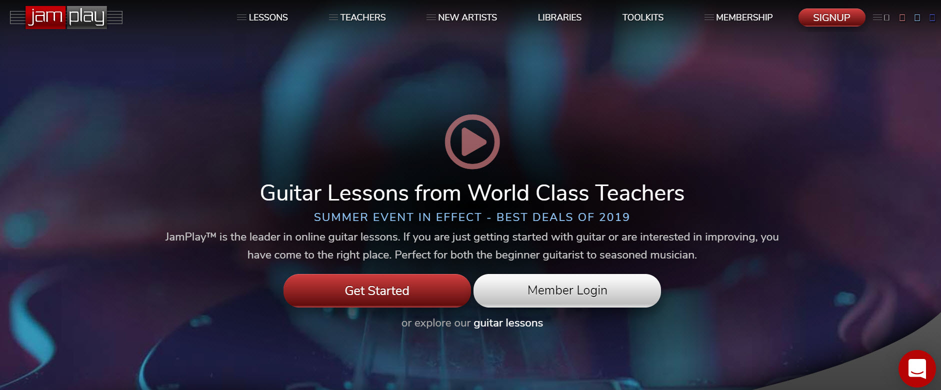 Top 12 Best Online Guitar Lessons Review (2019 Training