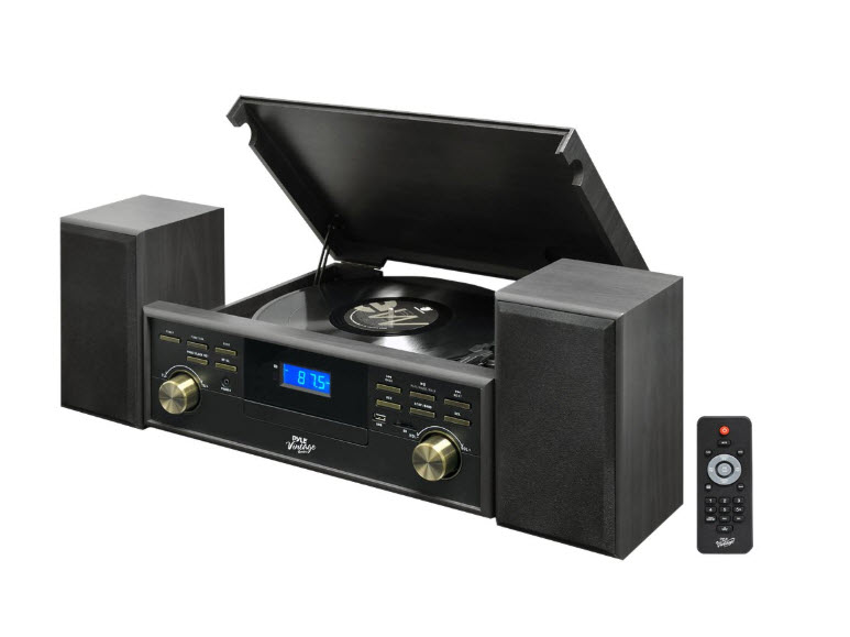 Bluetooth-Compatible Classic Vintage Turntable