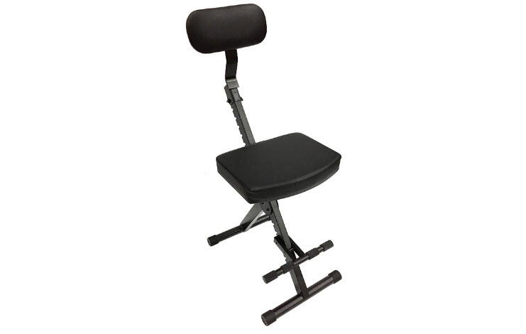CedarsLink LK-STU Portable Guitar Padded Chair Adjustable