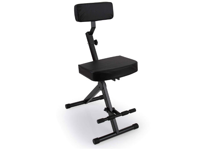 Portable Adjustable Musician Performer Stool Guitarist Throne
