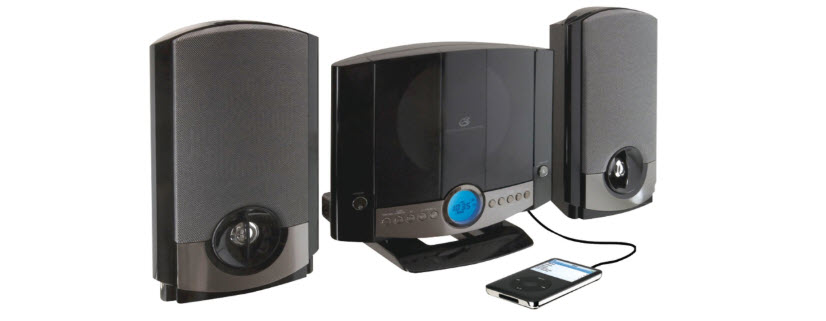 GPX HM3817DTBK Home Music System