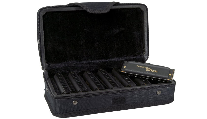 Hohner Piedmont Blues Harmonica Set