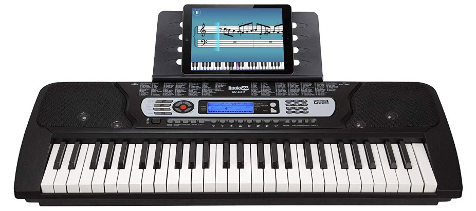 RockJam 54 Key Portable Electronic Keyboard