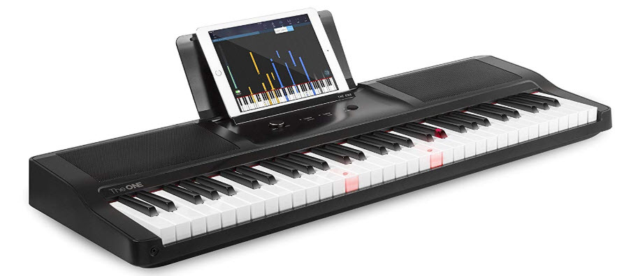 The ONE Smart Piano Keyboard with Lighted Keys