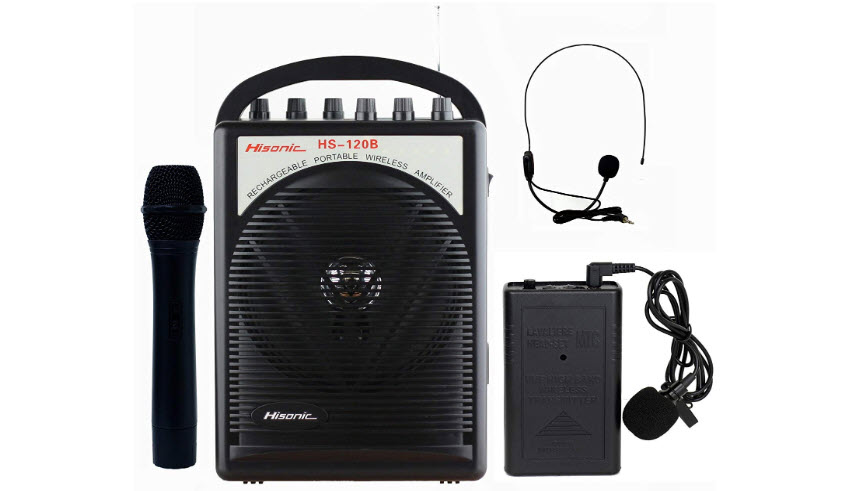 Hisonic HS120B Rechargeable PA System