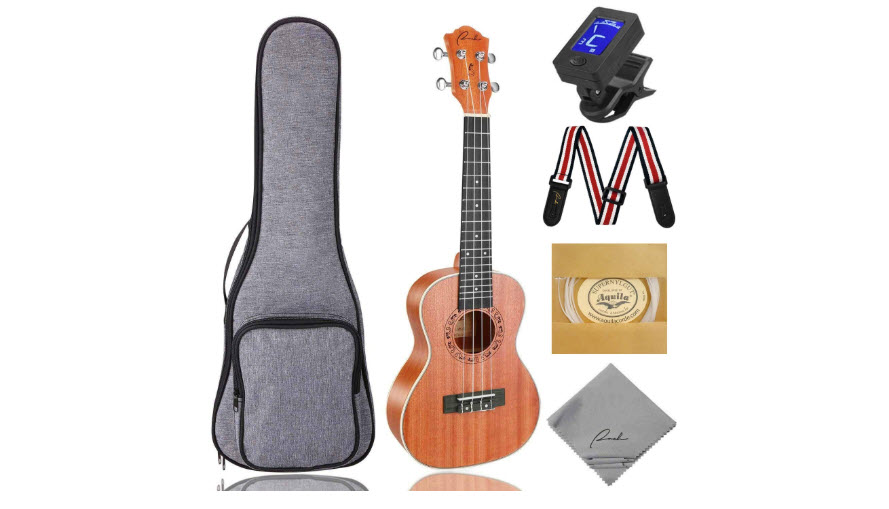 Tenor Ukulele Ranch 26 Inch Professional Wooden Instrument Kit
