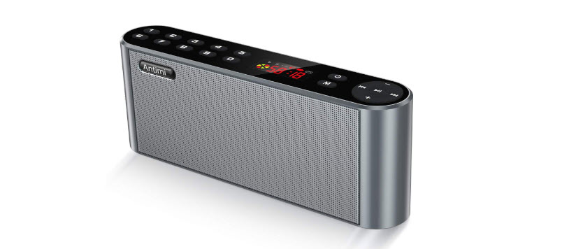 Antimi Bluetooth Speaker FM Radio Player