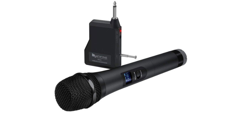 Wireless Microphone Fifine Handheld Microphone