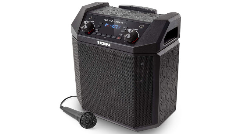ION Audio Block Rocker Plus 100 W Portable Speaker