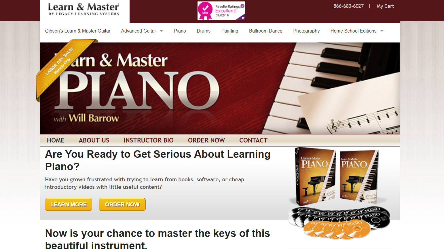 Learn and Master the Piano