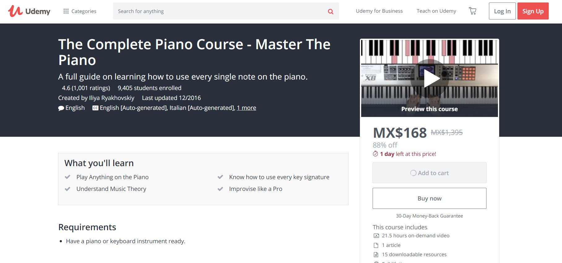 The Complete Piano Course