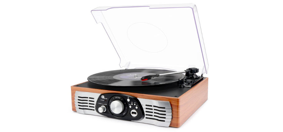 1byone Belt Drive Turntable