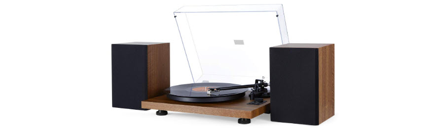 1byone Wireless Turntable Hi-Fi System