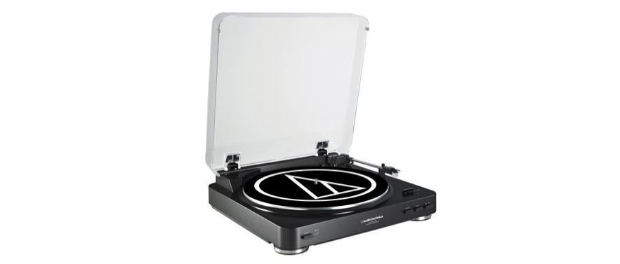 Audio-Technica ATLP60USB LP to USB Digital Belt Drive Turntable