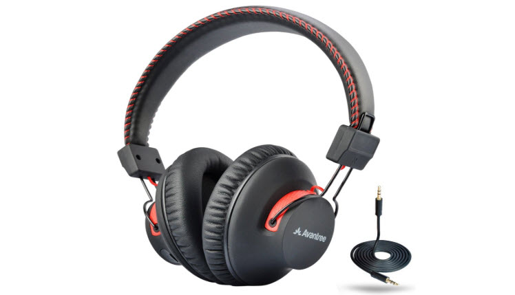 Avantree Audition Wireless-Wired Headphones