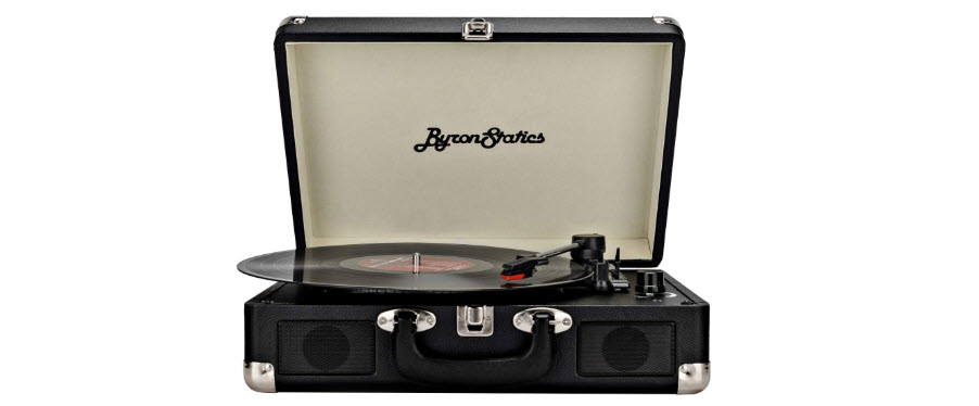 Byron Statics Vinyl Vintage Turntable