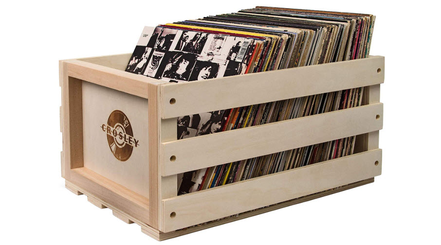 Crosley AC1004A-NA Record Storage Crate
