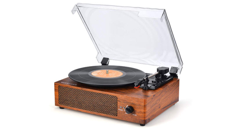 Record Player Turntable 3 Speed Vinyl