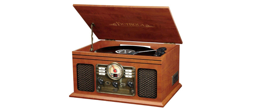 Victrola Classic Wood Bluetooth Turntable