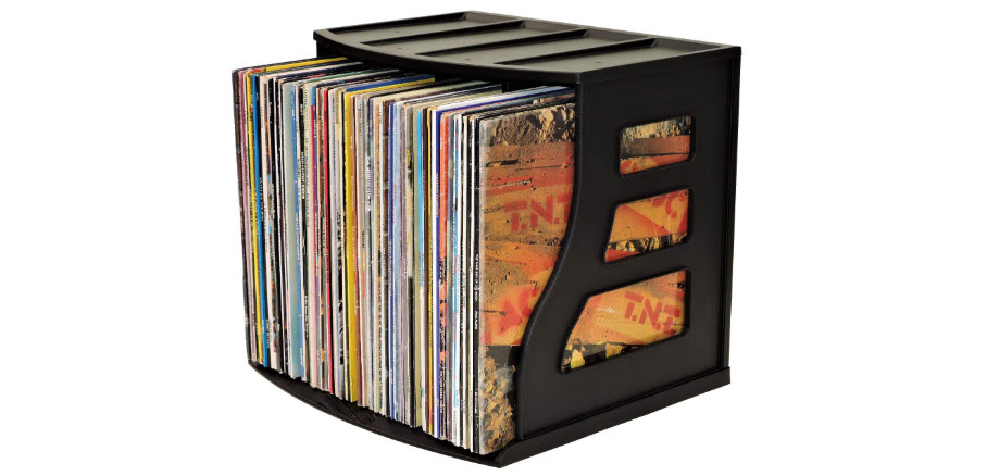 Binder Way Vinyl Record Storage Crate