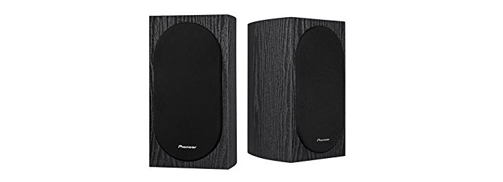 Pioneer SP-BS22-LR Andrew Jones Designed Bookshelf Loudspeakers