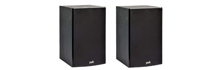 Polk Audio T15 100 Watt Home Theater Bookshelf Speakers